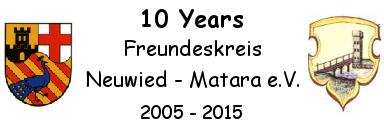 10 Years Freundeskreis Neuwied - Matara e.V.